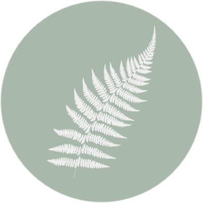 fern icon with green bg