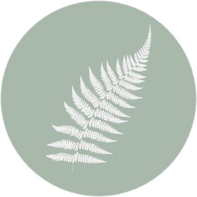 fern icon with green bg